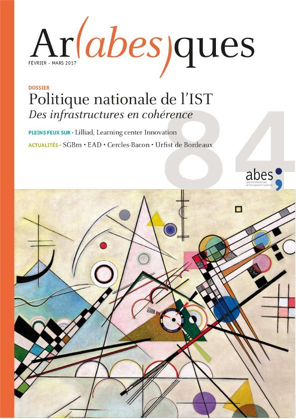 Couverture Arabesques N°84