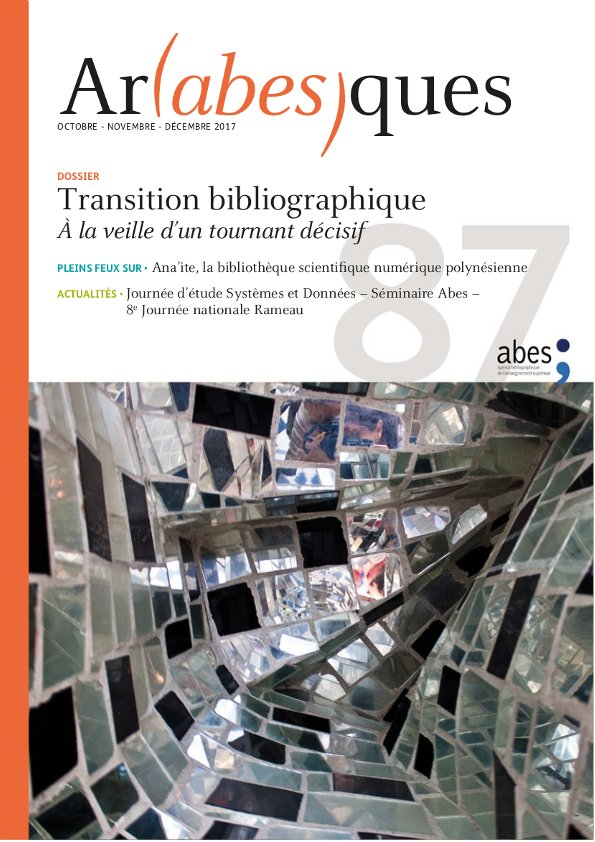 Couverture Arabesques N°87