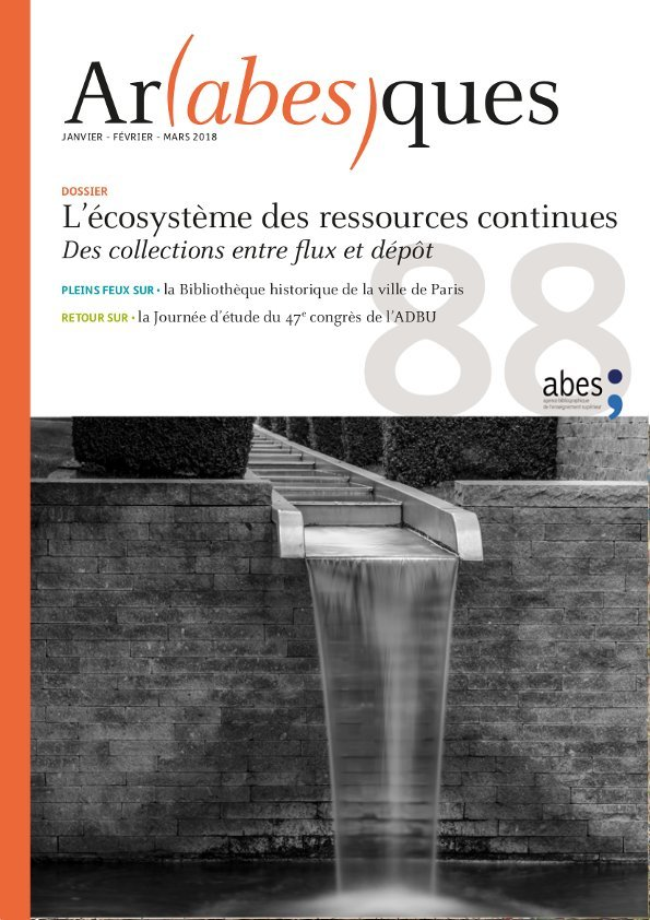 Couverture Arabesques N°88