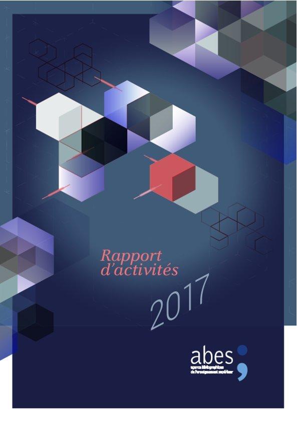 Couverture rapport d'activités 2017
