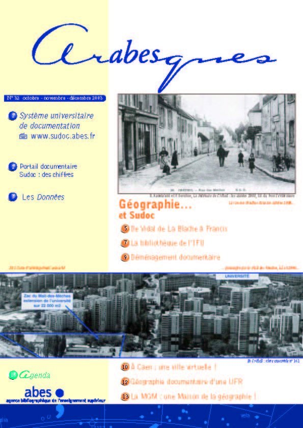 Couverture Arabesques N°32