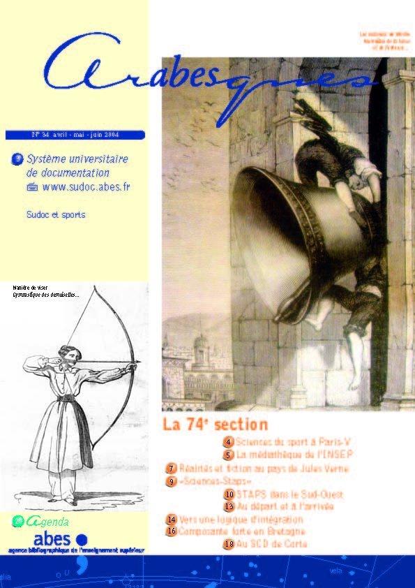 Couverture Arabesques N°34