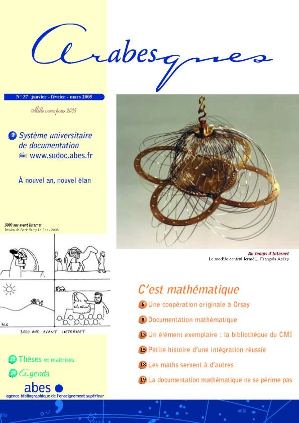 Couverture Arabesques N°37
