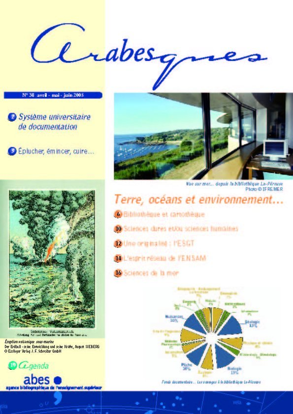 Couverture Arabesques N°38