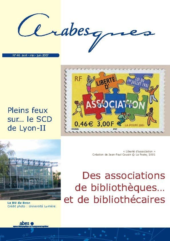 Couverture Arabesques N°46
