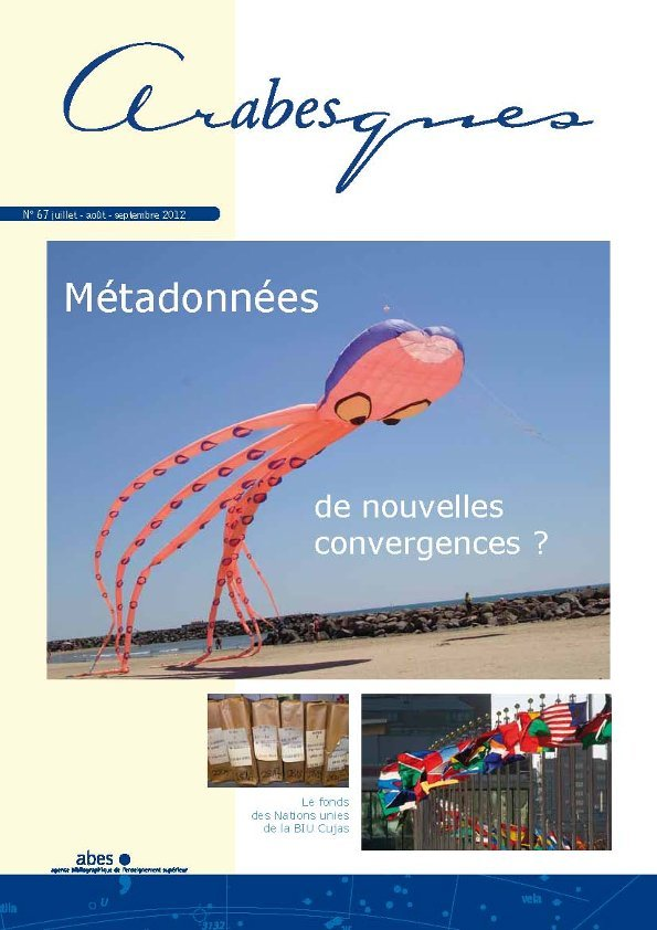 Couverture Arabesques N°67
