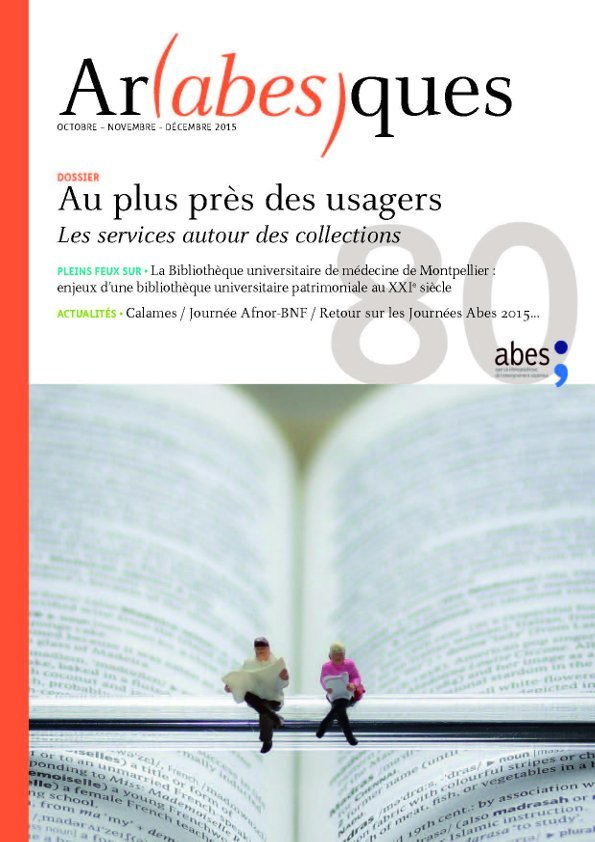 Couverture Arabesques N°80