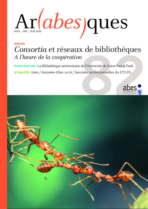 Couverture Arabesques N°82