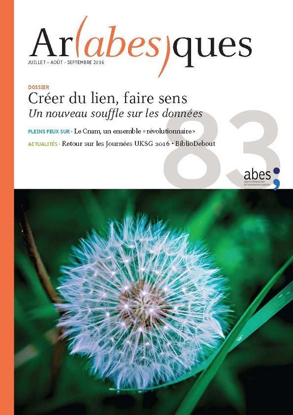 Couverture Arabesques N°83