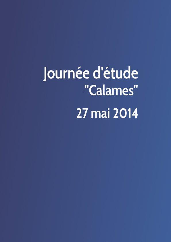 Journée d'étude Calames 2014