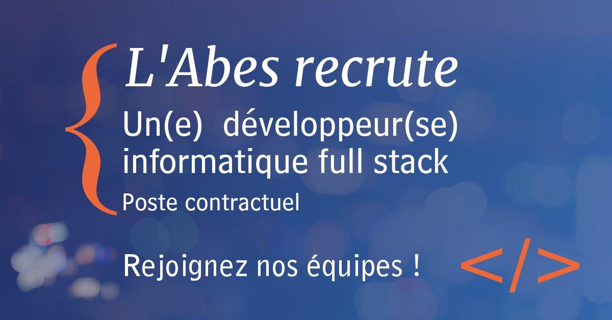 Recrutement développeur