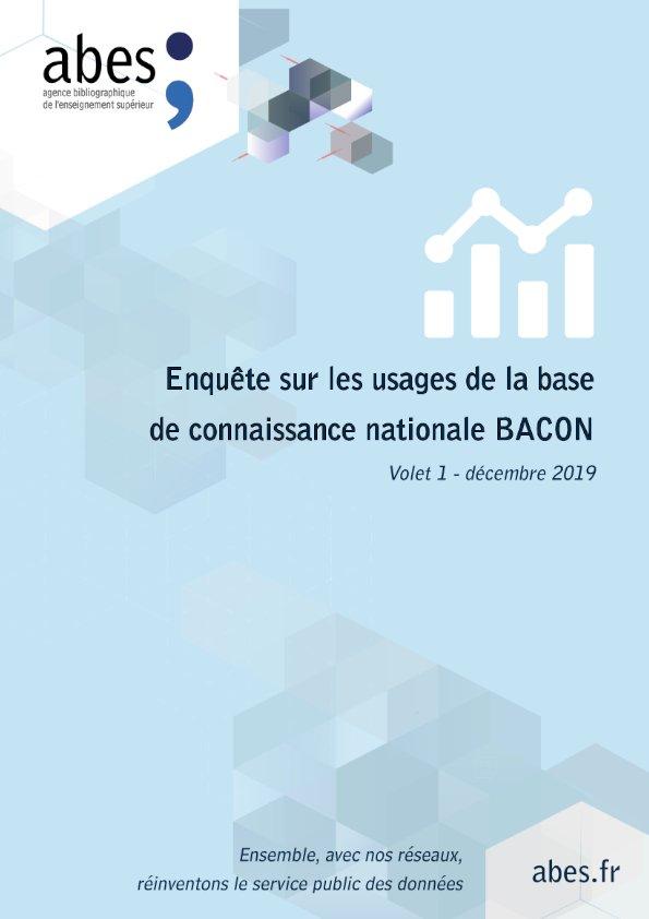 Couverture enquête Bacon - volet 1