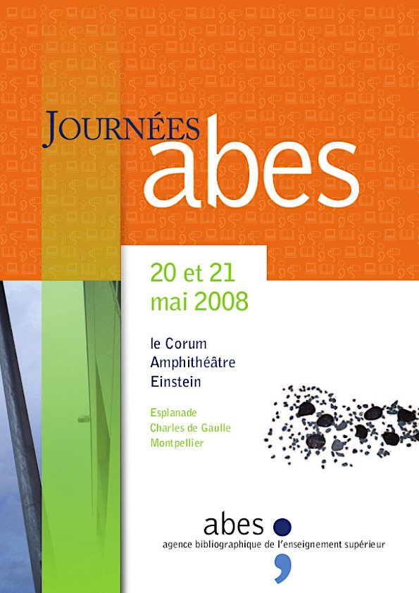 Affiche Journées Abes 2008