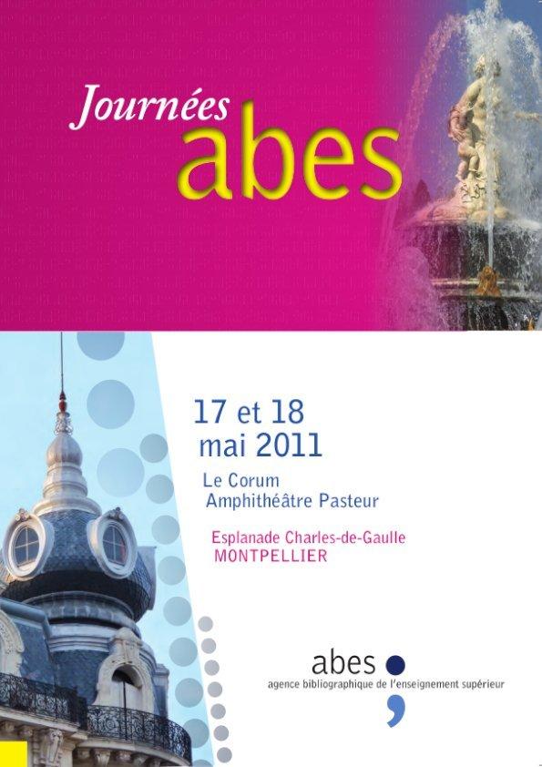 Affiche Journées Abes 2011