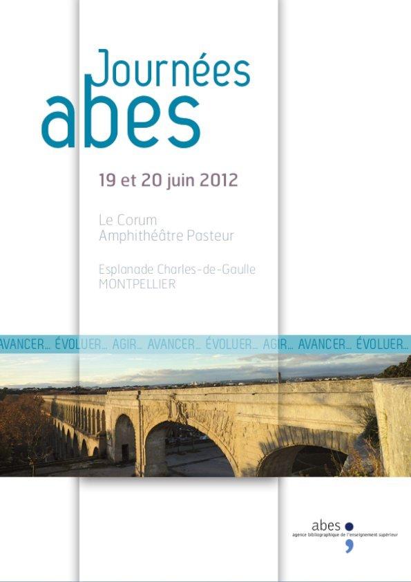 Affiche Journées Abes 2012