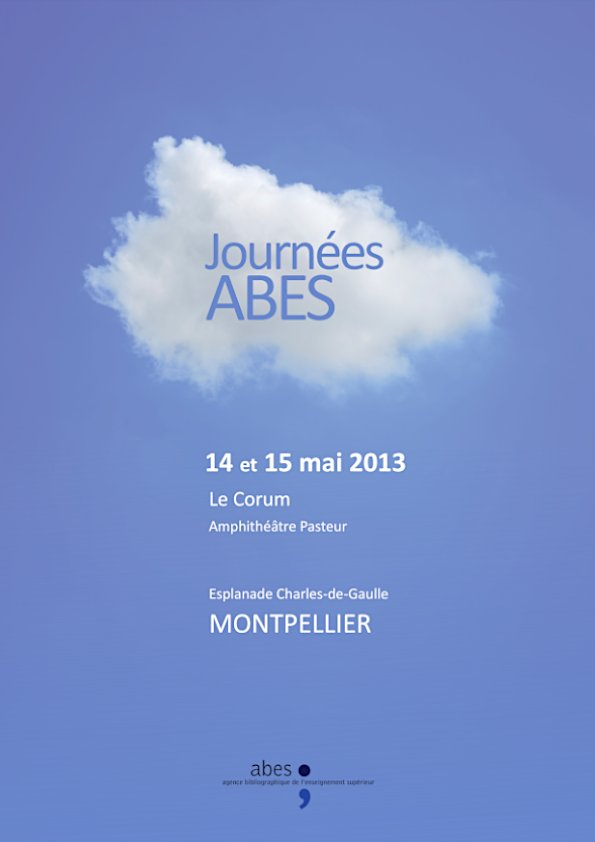 Affiche Journées Abes 2013