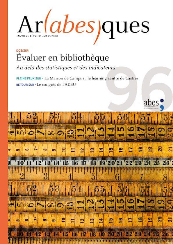 Couverture Arabesques N°96