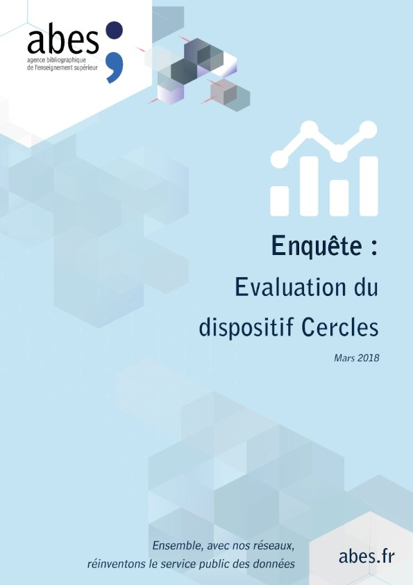 Couv enquête évaluation dispositif cercles