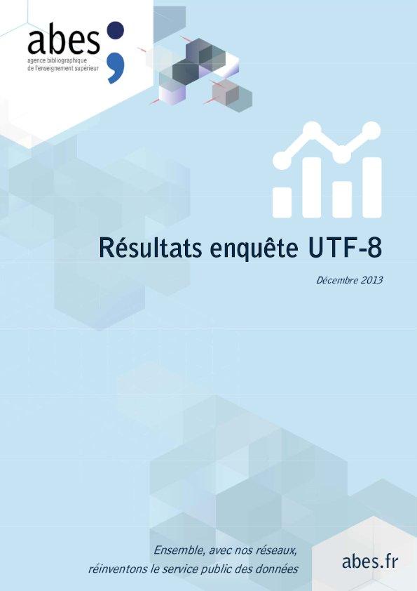 Couv résultats enquête utf-8 - 2013