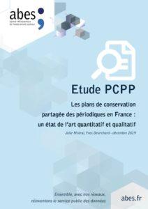 Couverture étude PCPP 2019