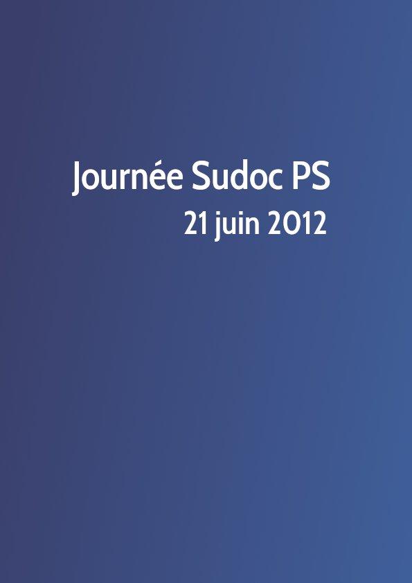 Journée Sudoc PS 2012