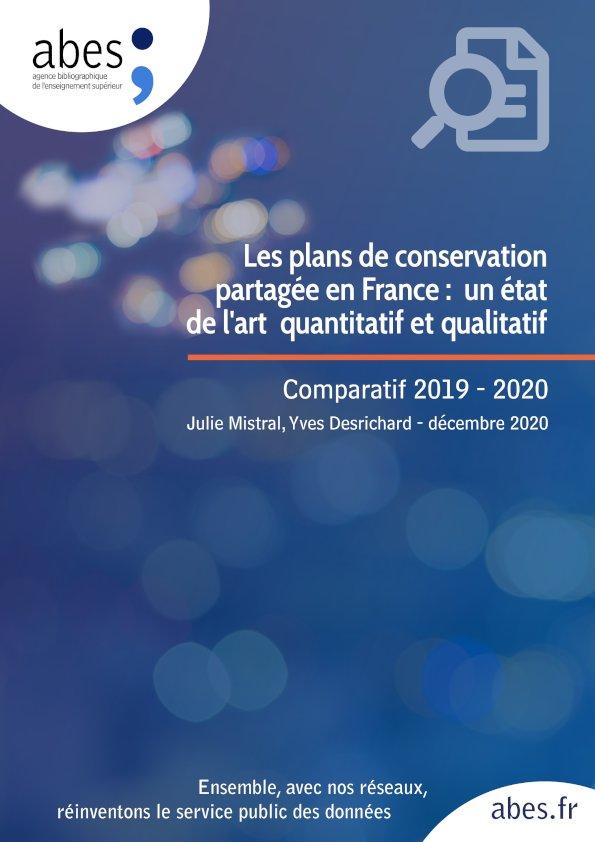 Couverture étude PCPP 2019-2020