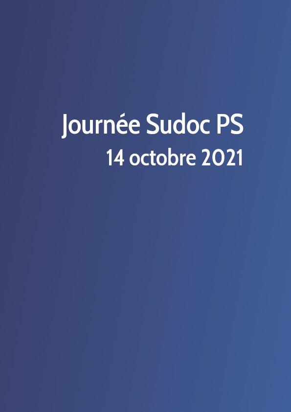 Journée Sudoc PS 2021